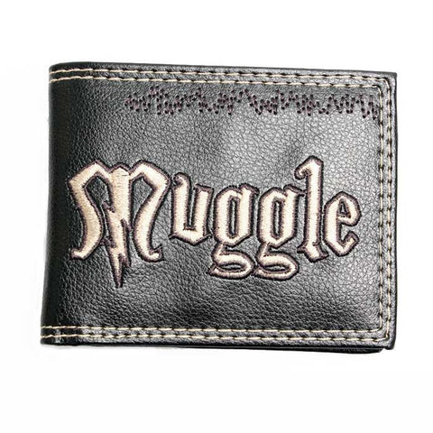 "Carteira ""Muggle""  Trouxa - Harry Potter"