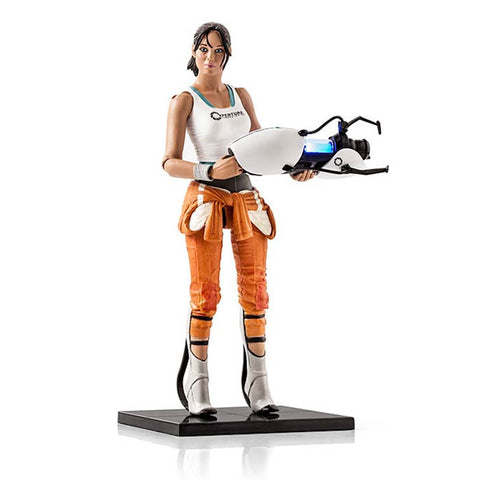 Chell Action Figure -  Portal 2 - Loja Geek Blackat Store