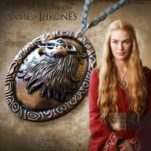 Colar House Lannister - Game of Thrones
