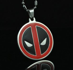 Colar Deadpool - Loja Geek Blackat Store