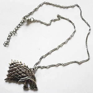 Colar House Stark - Game Of Thrones - Loja Geek Blackat Store