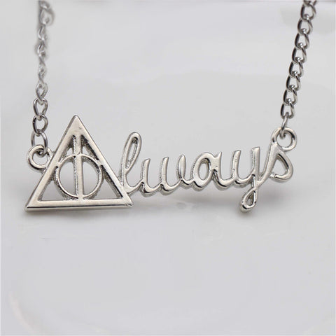 Colar Always Harry Potter - Loja Geek Blackat Store