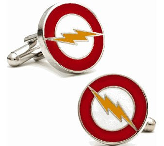 Abotoaduras The Flash - Loja Geek Blackat Store