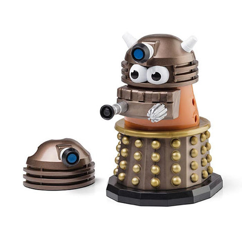 Gold Dalek Mr. Potato Head Figure - Doctor Who - Loja Geek Blackat Store