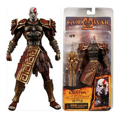 Action Figure Colecionável Kratos Armadura Ares - God Of War - Loja Geek Blackat Store