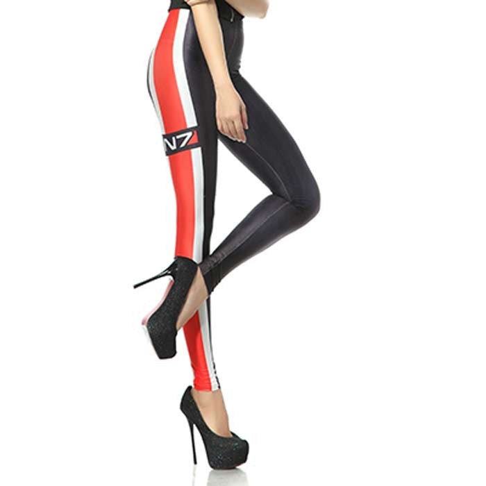 Legging Mass Effect 3 - Loja Geek Blackat Store