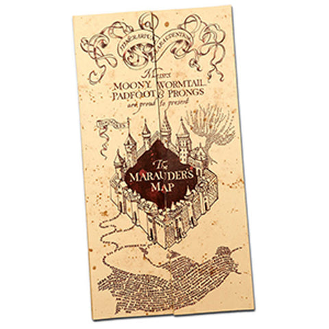 Mapa do Maroto Harry Potter Réplica Original LICENCIADO - Loja Geek Blackat Store