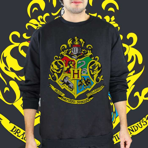 Moletom Unissex Hogwarts - Harry Potter - Loja Geek Blackat Store
