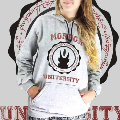 Moletom Mordor University - O Hobbit - Loja Geek Blackat Store