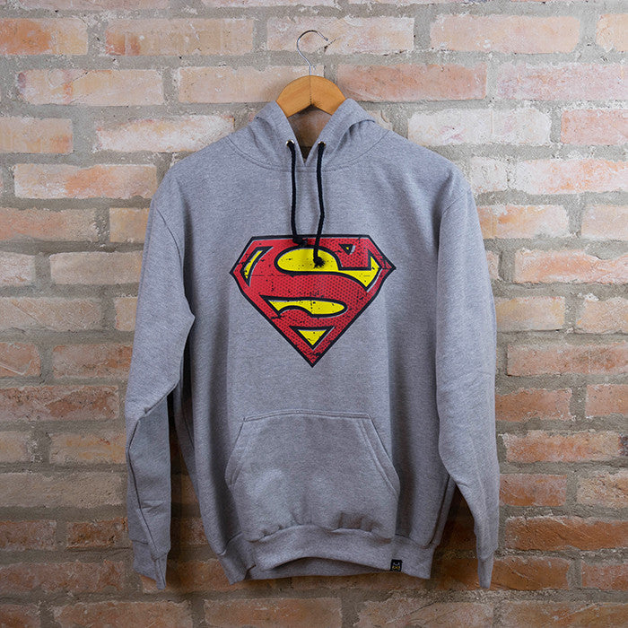 Moletom Unissex Superman - Loja Geek Blackat Store