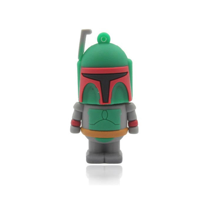 Pendrive Boba Fett Star Wars 8GB - Loja Geek Blackat Store