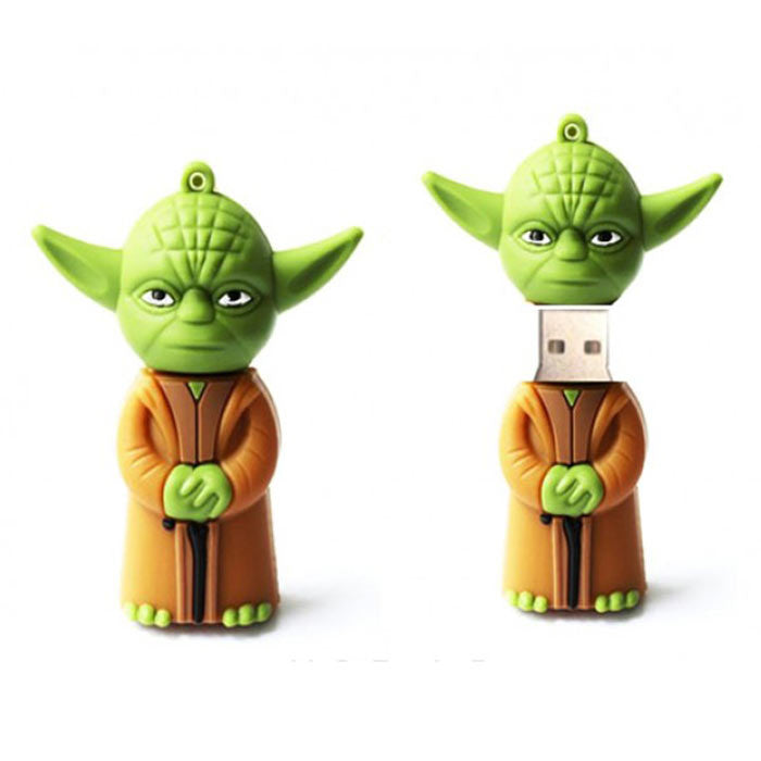 Pendrive Mestre Yoda Star Wars 8 GB - Loja Geek Blackat Store