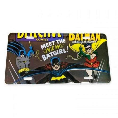 Placa de Metal Decorativa Batgirl Dc Comics