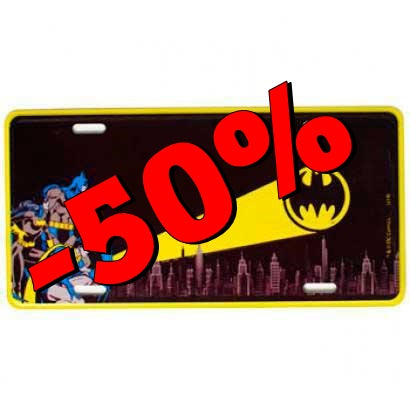 Placa de Metal Decorativa Batman Dc Comics - Loja Geek Blackat Store