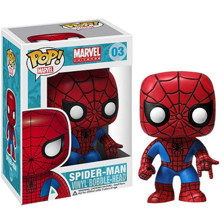 Boneco Marvel Spiderman Funko Pop! Vinyl