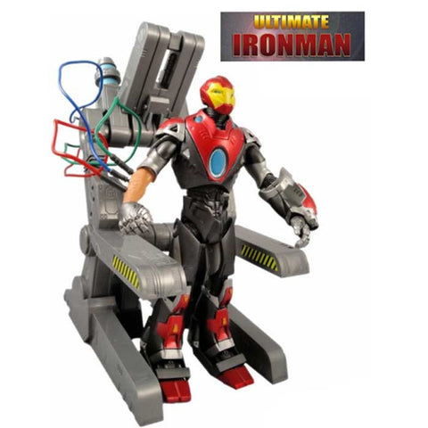 Action Figure Iron Man Ultimate - Marvel - Loja Geek Blackat Store