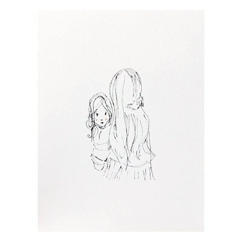 'Daughters' A4 Print