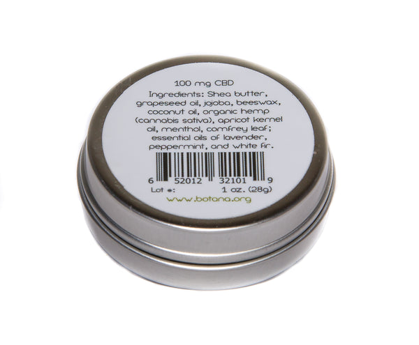 White Fir Phytocannabinoid Rich Hemp Salve - Botana CBD