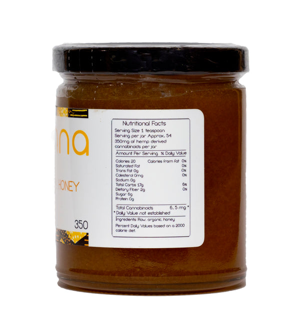 Raw Organic Honey - Botana CBD