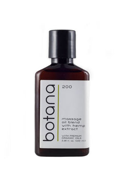 Hemp Body Oil - 200mg - Botana CBD