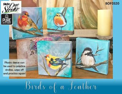 Birds of a Feather PURE Artist Pigment Project Packet