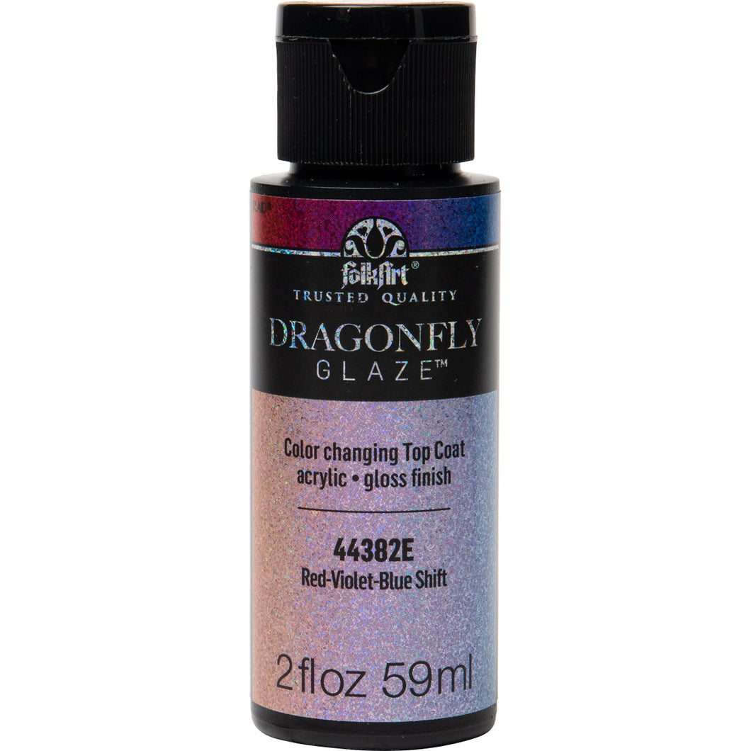 44382E Red-Violet-Blue Shift Dragonfly Glaze 2 oz.