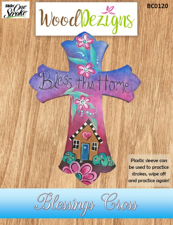 Blessings Cross WoodDezign Packet