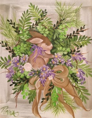 Spring Bunny Wreath Course Video