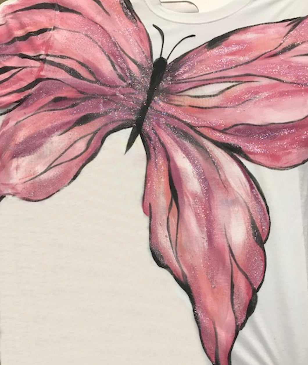 Fabric Painting Butterfly Shirt Downloadable Video Lesson Dewberry U