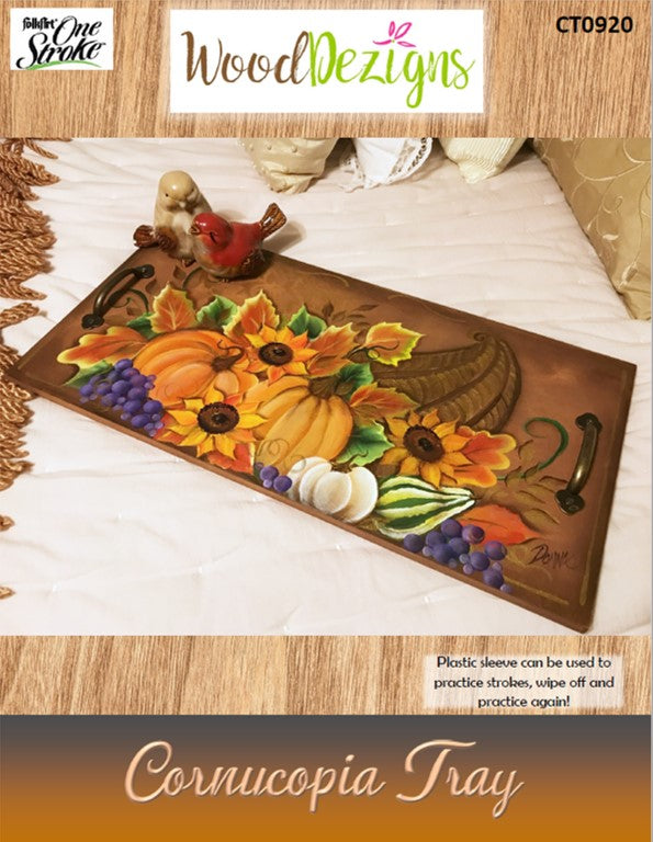 WoodDezigns Cornucopia Tray