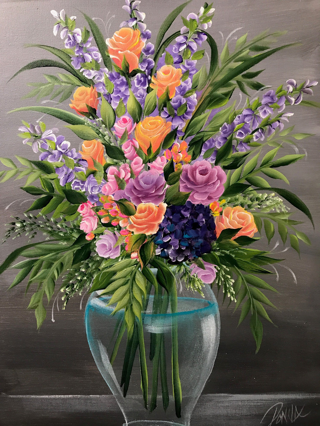 Floral Vase Design Downloadable Video Lesson