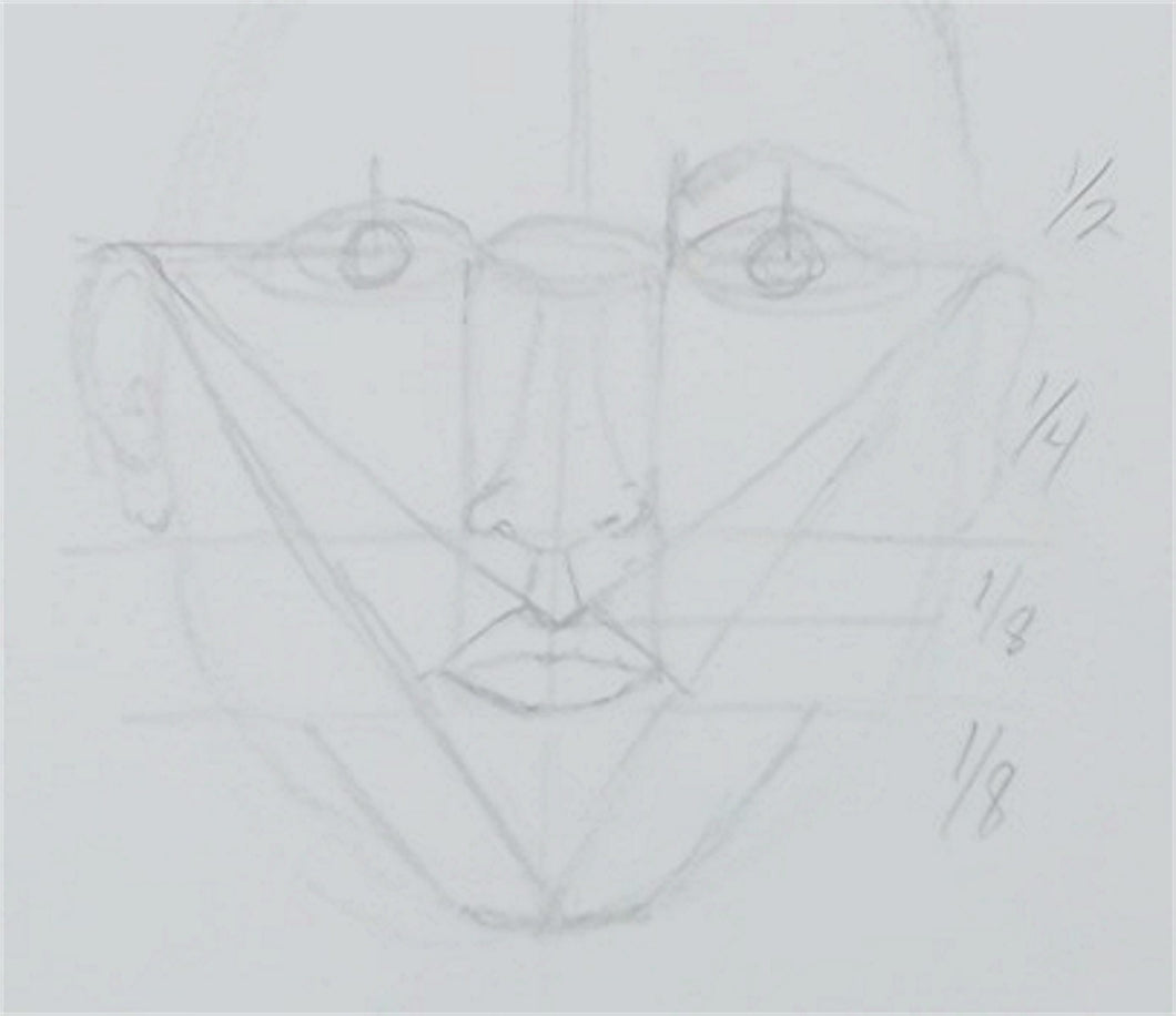Drawing Series 5 - Lesson 2 Faces - Parts and Proportions - Course Video