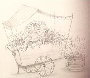 Drawing Series 2 - Lesson 2 Garden Cart - Course Video