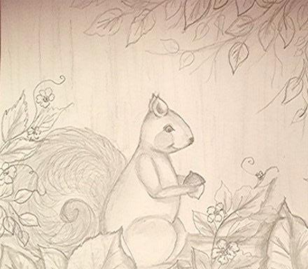 Drawing Series 2 - Lesson 4 Squirrel - Course Video