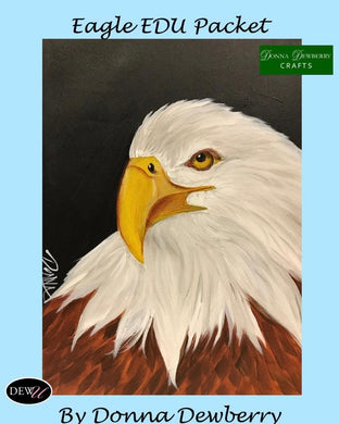 EDU Packets (Painting Parties) Eagle
