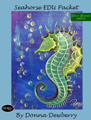 EDU Packets (Painting Parties) Seahorse