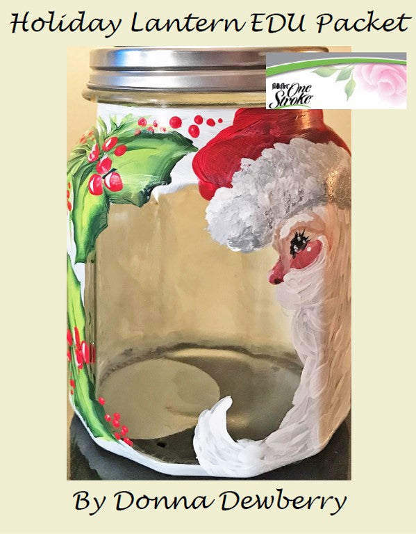 EDU Packets (Painting Parties) Holiday Lantern