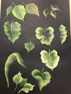 Stroke Study Lesson 4 - Leaves and Flowers 2