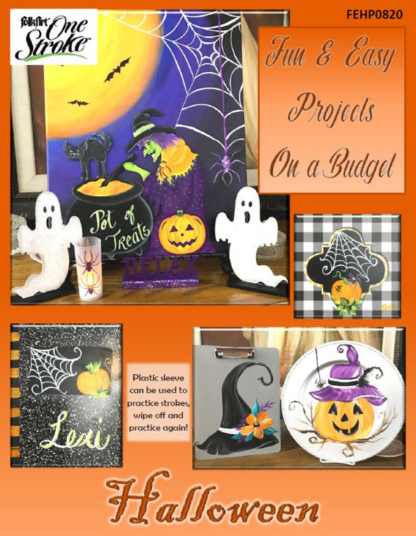 Fun & Easy Projects on a Budget - Halloween Project Packet
