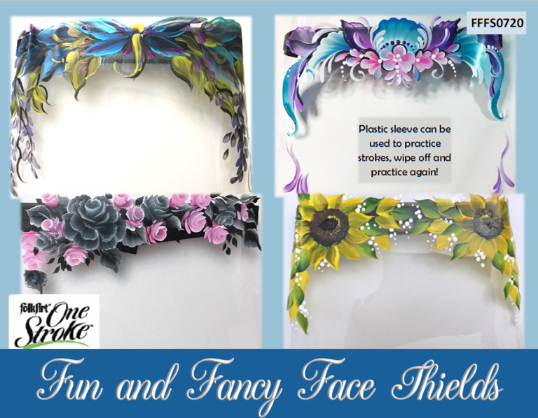 Fun and Fancy Face Shields Project Packet