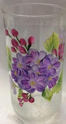 Glass - Floral Vases with Special Effects Course Video