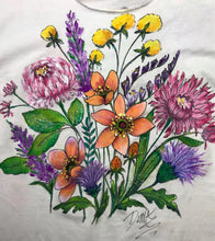 Fall and Spring Floral Stems Shirt Downloadable Video Lesson