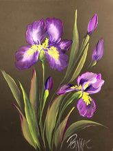 Stroke Study Lesson 6 - Irises Downloadable Video Lesson