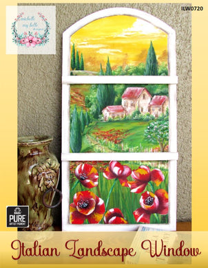 Pure AP Italian Landscape Window by Michelle James - Convention 2020 Packet