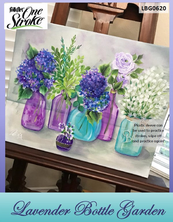 Lavender Bottle Garden Project Packet