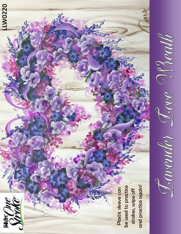 Lavender Love Wreath Project Packet