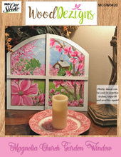 Magnolia Church Garden Window WoodDezigns Packet