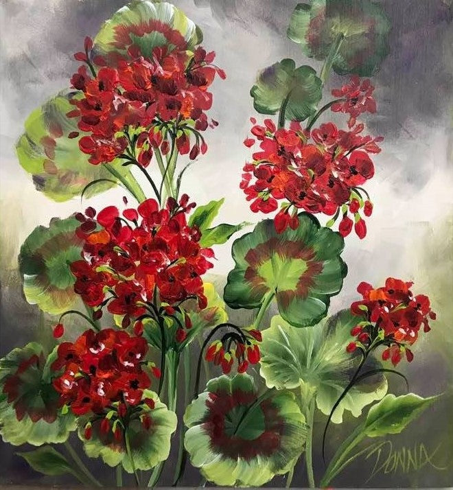 Geraniums Downloadable Video Lesson