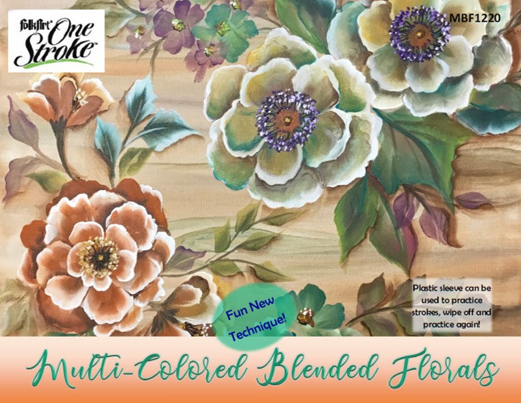 Multi-Colored Blended Florals Project Packet
