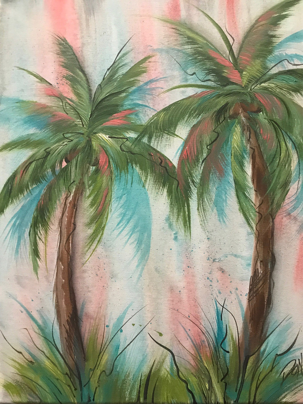 Florida Palm Trees Downloadable Video Lesson